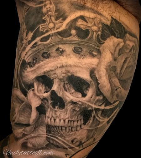 Tattoos - Skull   - 138916